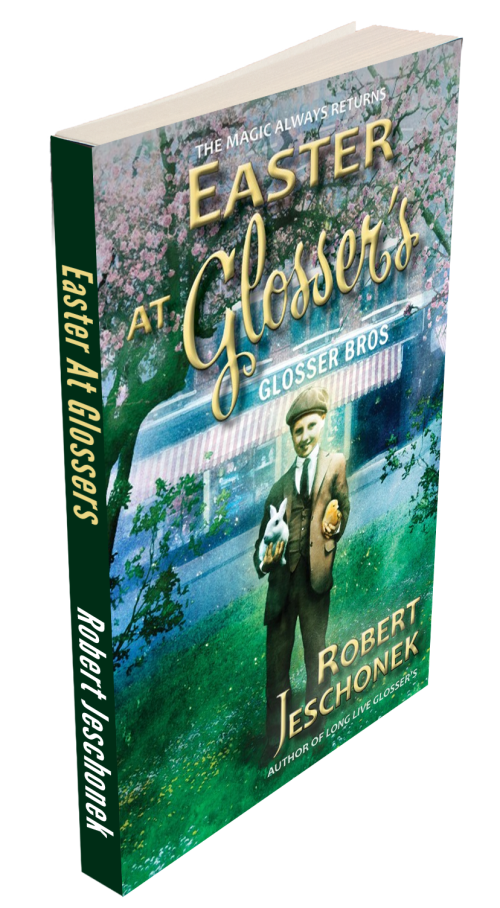 Easter at Glossers book paperback