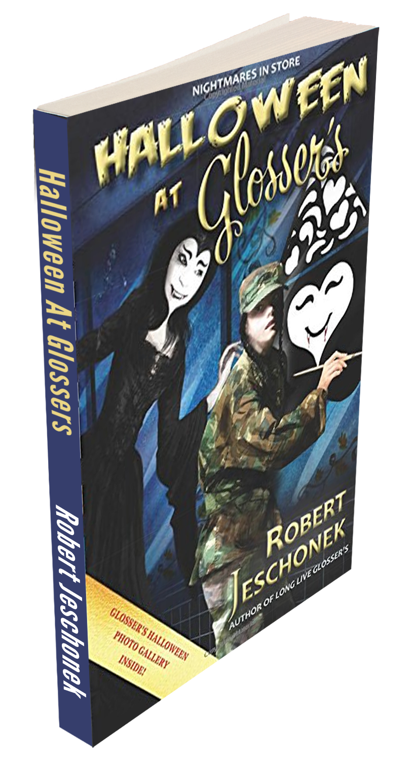 Halloween At Glossers Book Paperback