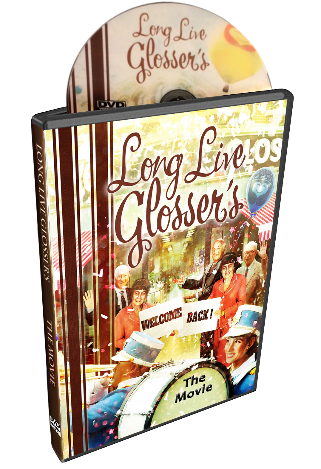 Glossers DVD Case
